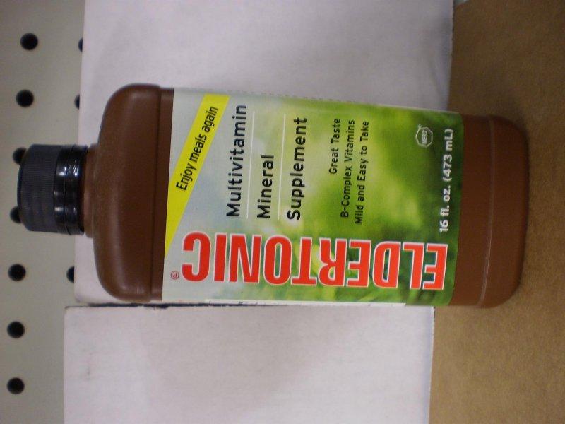 Eldertonic Vitamin Oral Elixir 16 Oz