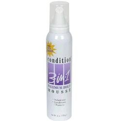 Conditioning 3 In 1 Maximum Mousse 6 Oz