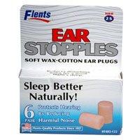 Ear Stopples Earplug Wax 12 Each (6 Pair)