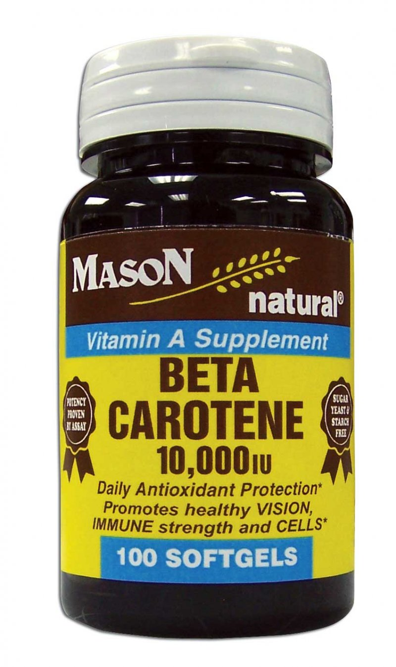 Image 0 of Beta Carotene 10 000 Units Vitamin A Supplements Softgel 100
