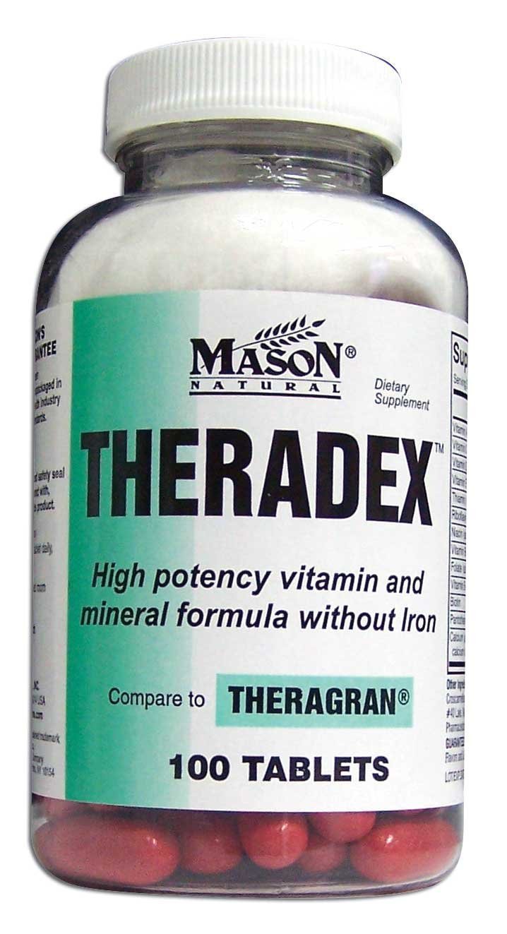Image 0 of Theradex Dietary Supplement Tablets 100