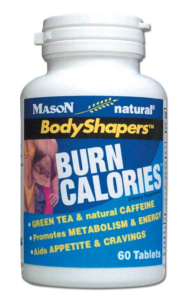Image 0 of Body Shapers Burn Calories With Green Tea & Natural Caffeine Tablets 60