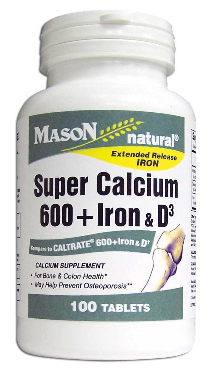 Image 0 of Super Calcium With Iron & Vitamin D Tablets 100