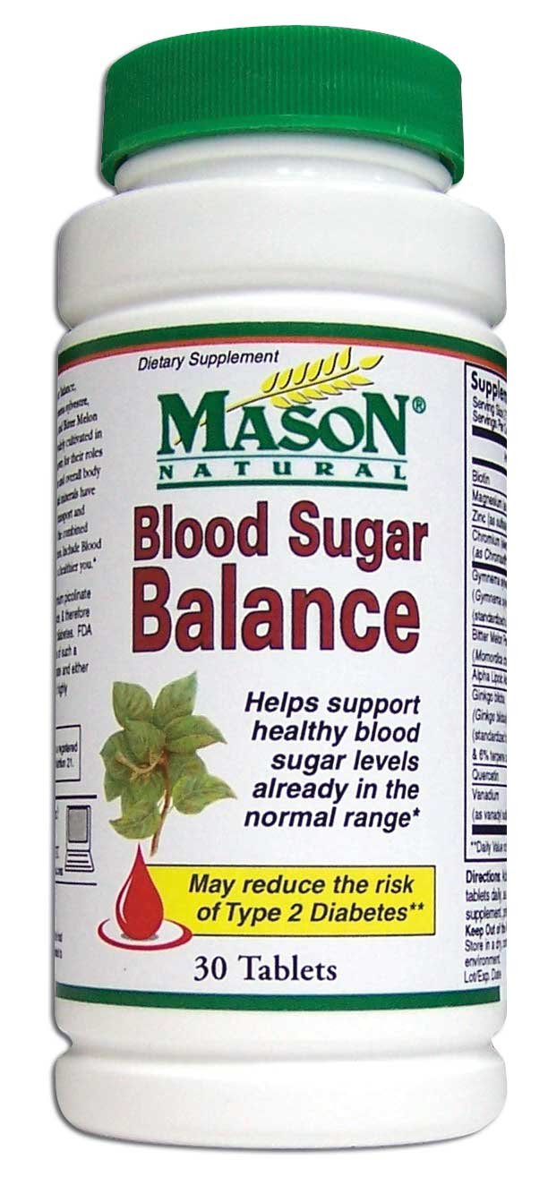 Image 0 of Blood Sugar Balance Condition Formula Dietary Supplement Tablets 30