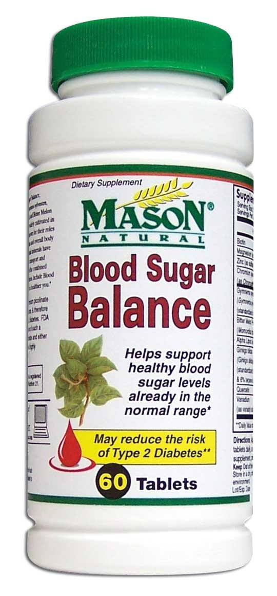 Image 0 of Blood Sugar Balance Condition Formula Dietary Supplements Tab 60
