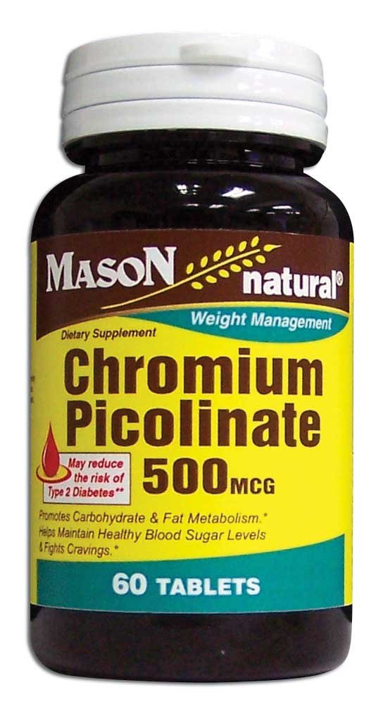 Image 0 of Chromium Picolinate 500Mcg Weight Management Tablets 60