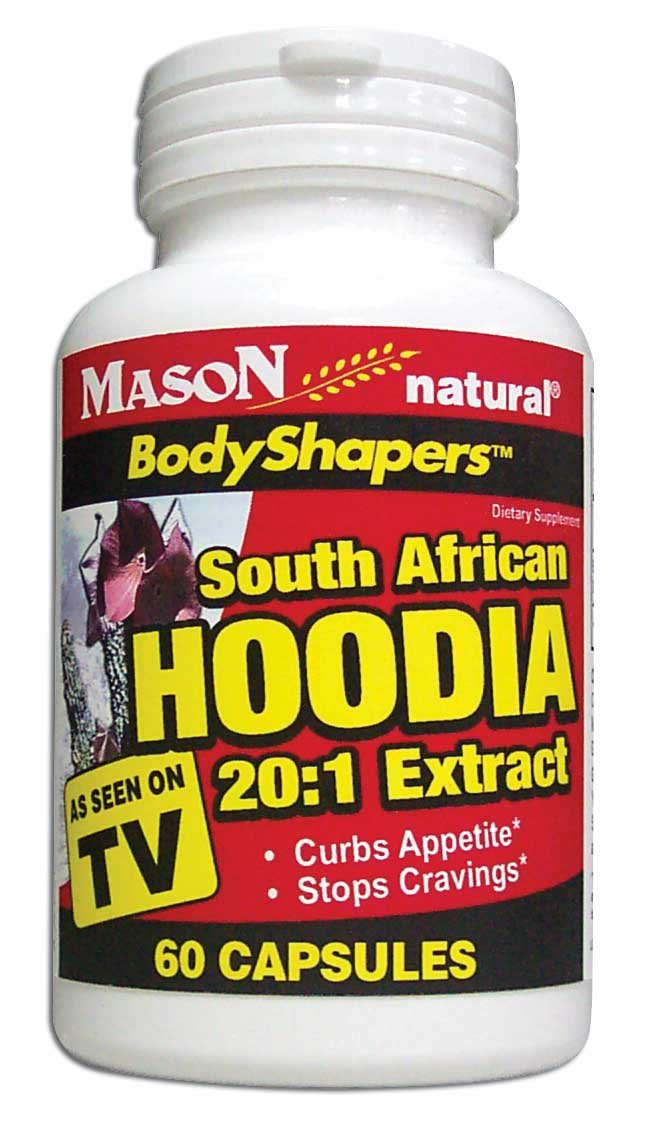 Image 0 of Body Shapers South African Hoodia 20:1 Extract Dietary Supplements Capsules 60