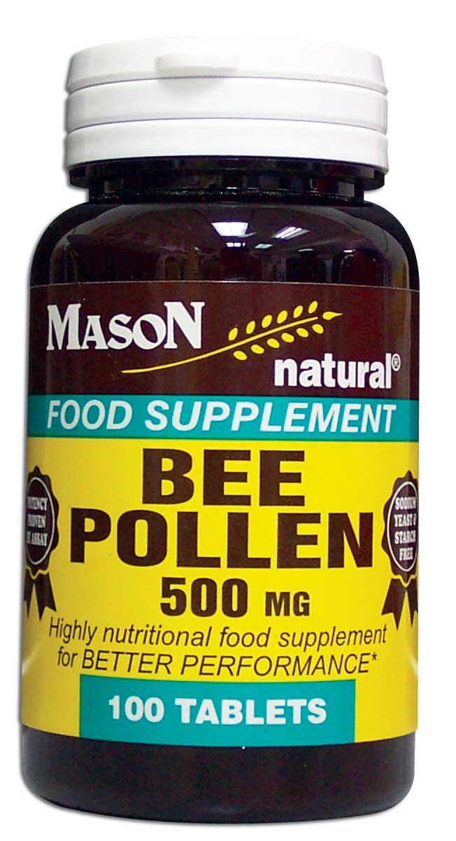 Image 0 of Bee Pollen 500 mg Food Supplements Tablets 100