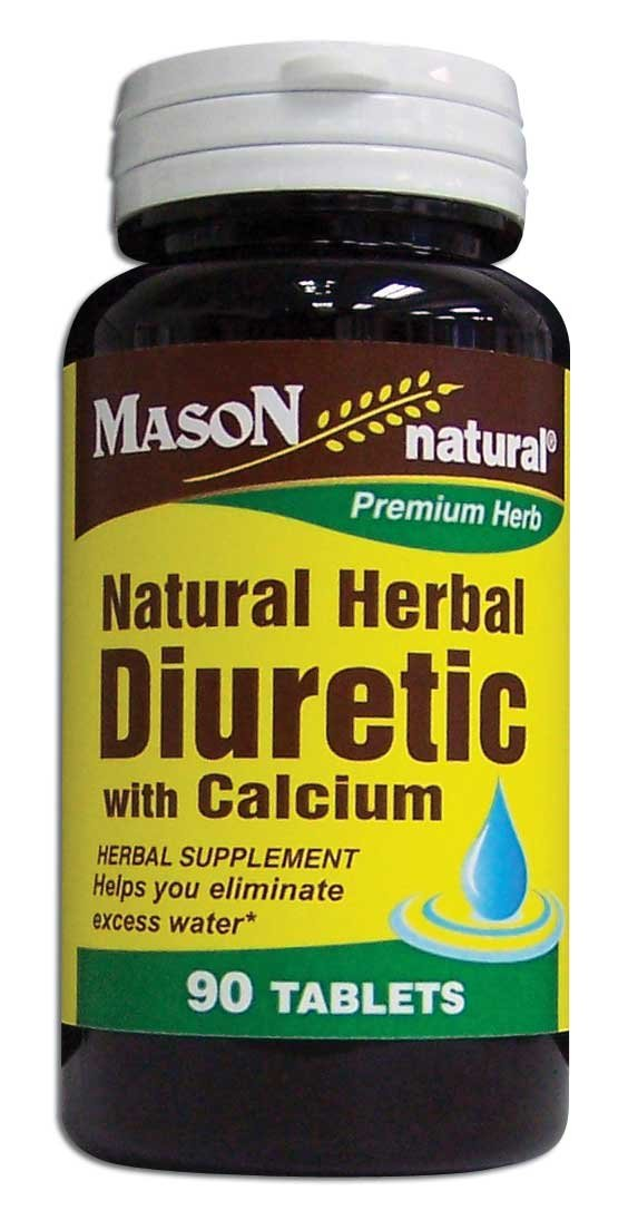 Image 0 of Natural Herbal Diuretic With Calcium Herbal Supplement Tablets 90