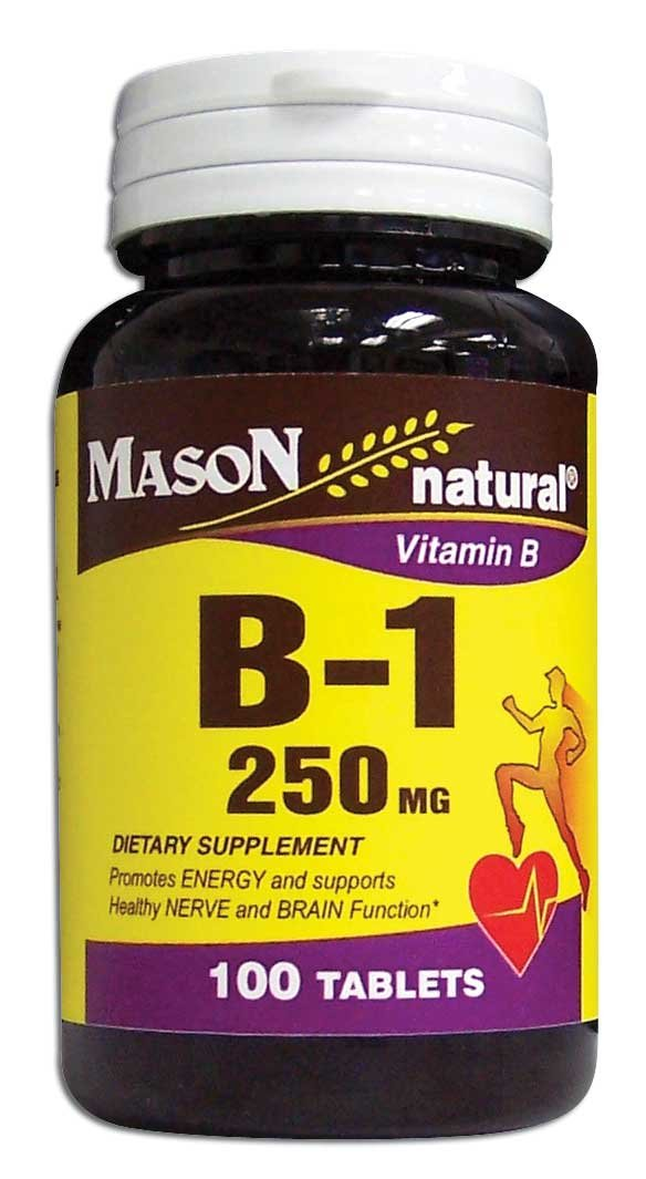 Image 0 of Vitamin B Supplement B-1 250mg Dietary Supplement Tablets 100