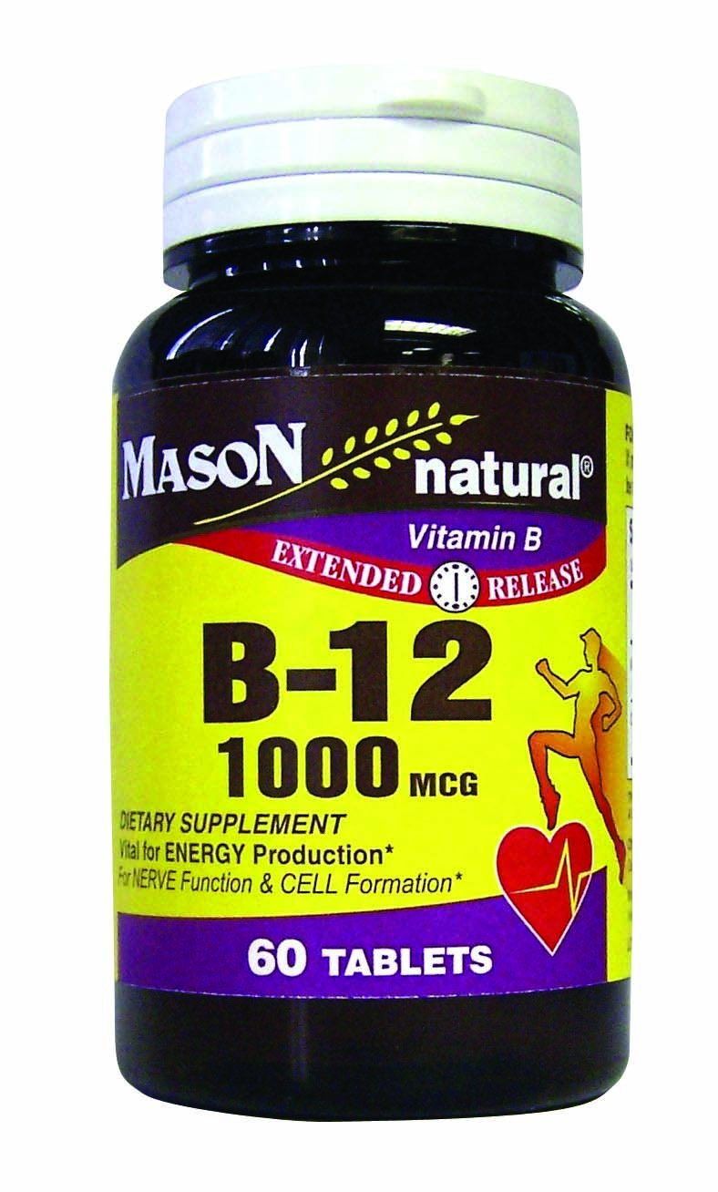 Image 0 of B-12 1000 Mcg Time Release Dietary Supplements Tablets 60