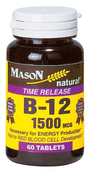 Image 0 of B-12 1500 Mcg Timed Release Dieatry Supplement Tablets 60