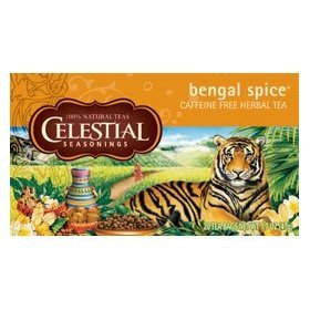 Herb Tea Bengal Spice Size 20 Bag By Celestial Seasoning