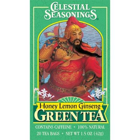Green Tea Lemon Zinger Size 20 Bag By Celestial Seasoning