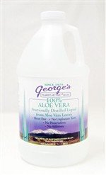 Aloe Liquid Size: 64 oz By Georges Aloe Vera Products