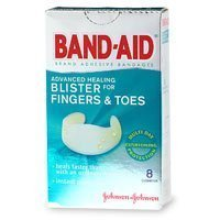 Band-Aid Adhesive Healing Blister For Fingers & Toes Cushions 8 Ct.
