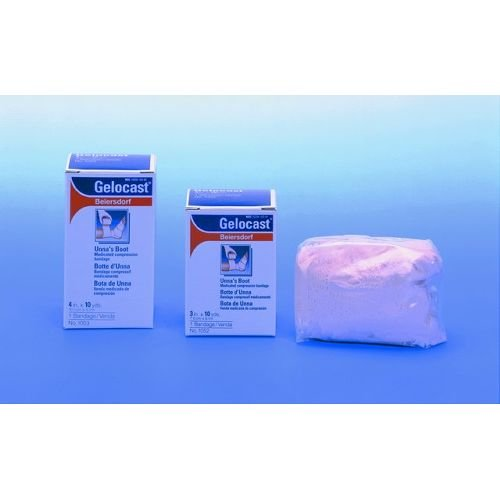 Gelocast Unnas Boot With Calamine 4X 10 Yds Bandage