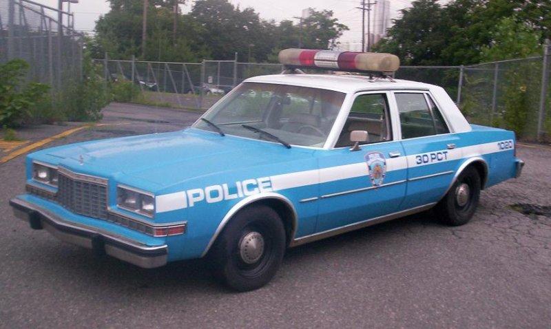 NYPD Dodge Diplomat Police Car