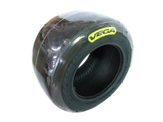 Vega MCS Yellow 6'' Kart Tires