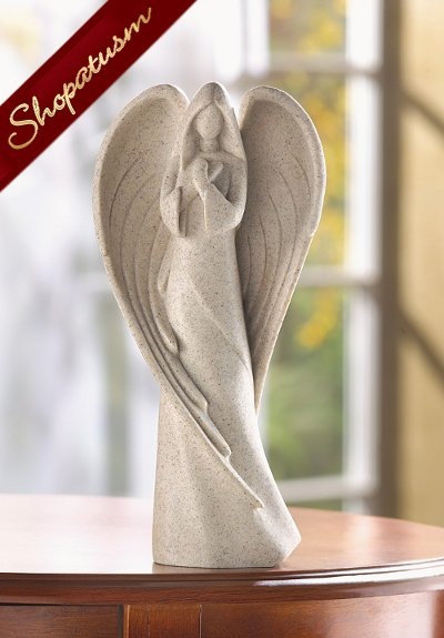 Desert Angel Figurine in Reverent Prayer