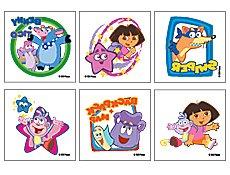 Dora the Explorer Temporary Tattoos - Pack of 144
