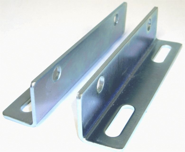 CAT Pump Angle Mounting Rail Set