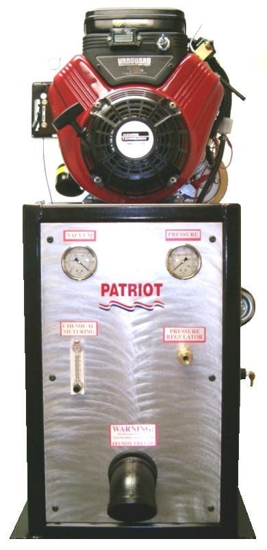 3   The PATRIOT Carpet Cleaning System