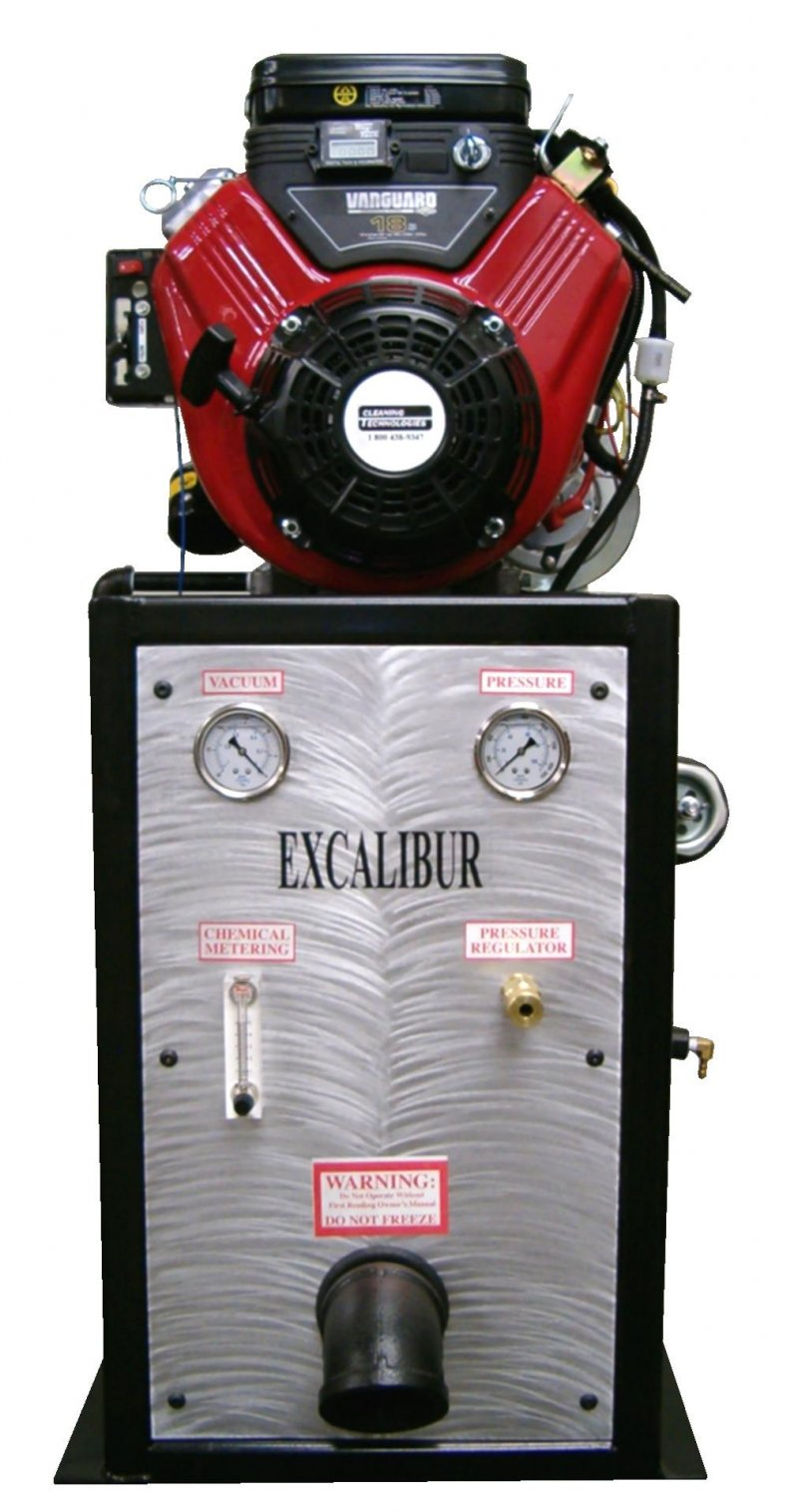 4 - The EXCALIBUR Carpet Cleaning System