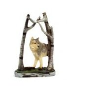Image 0 of Wolf Scene Figurines