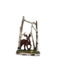 Image 0 of Deer Scene Figurines