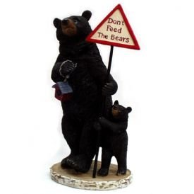 Image 0 of Don't Feed The Bears Figurine