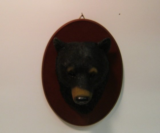 Image 0 of Black bear Wall Plaque
