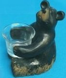 Image 0 of Black Bear Candle Holder