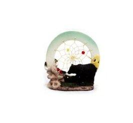 Image 0 of Black Bear Dream Catcher Figurine