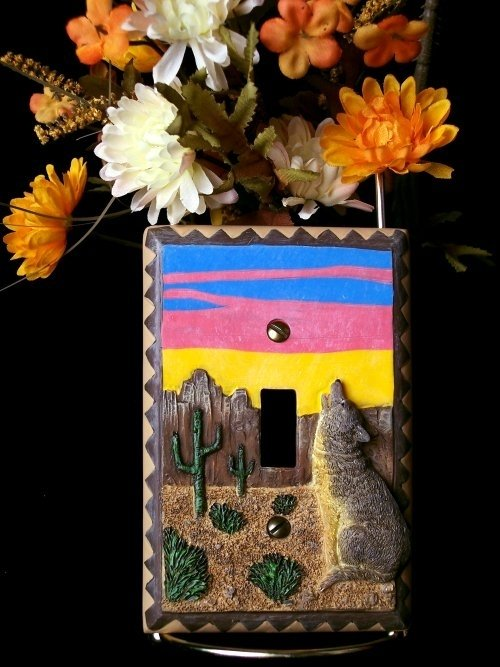 Image 0 of Western Style Light Switch Cover
