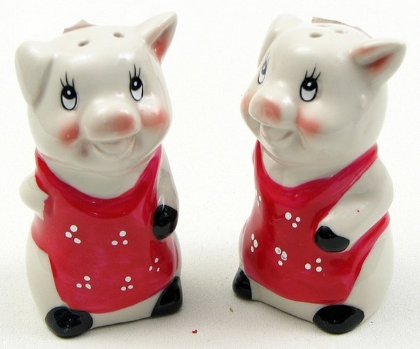 Image 0 of Pig Salt And Pepper Set