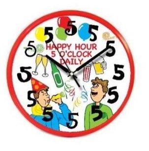 Image 0 of HAPPY HOUR CLOCK