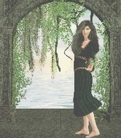Cross Stitch Pattern Come Greet the Dawn Gothic