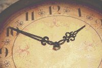Time Antique Clock Watch Cross Stitch Pattern