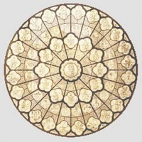 Notre Dame Cathedral Rose Window Cross Stitch Pattern