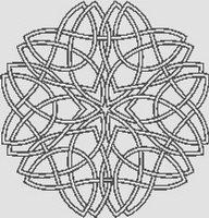 Celtic Knotwork 1 Cross Stitch Pattern