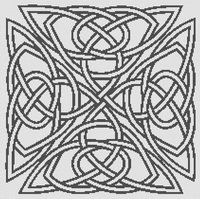 Celtic Knotwork 2 Cross Stitch Pattern