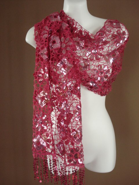 EGYPTIAN HANDMADE SCARF WRAP SHAWL IMPORT FROM EGYPT H10 10
