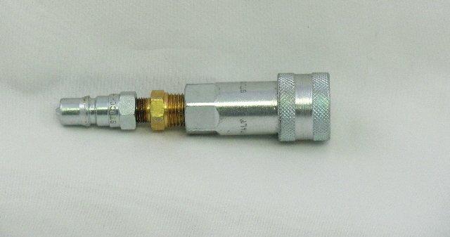 LPGA-1/8-1/4 Liquid Pressure Gauge Adaptor 1/8'' - 1/4''