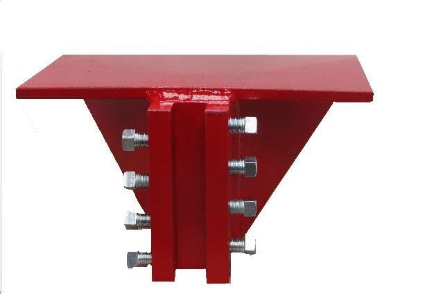 DISCONTINUED Rail Clamps - Car Building Rail Blocks-Plate