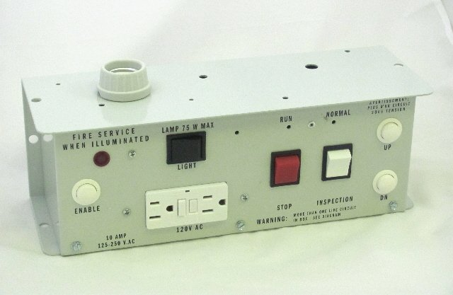 Image 0 of CTIS-24 - Car Top Inspection Station with 24VDC buzzer and neon