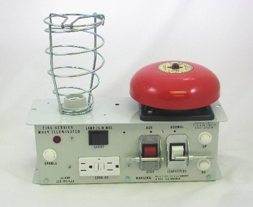 Image 0 of CTIS-AB6VDC - Car Top Inspection Station with Fire Service and 6V Alarm Bell