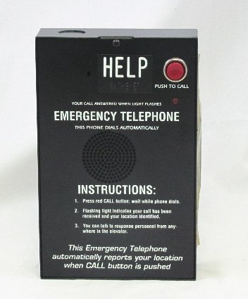 Hands Free Black Box Phone