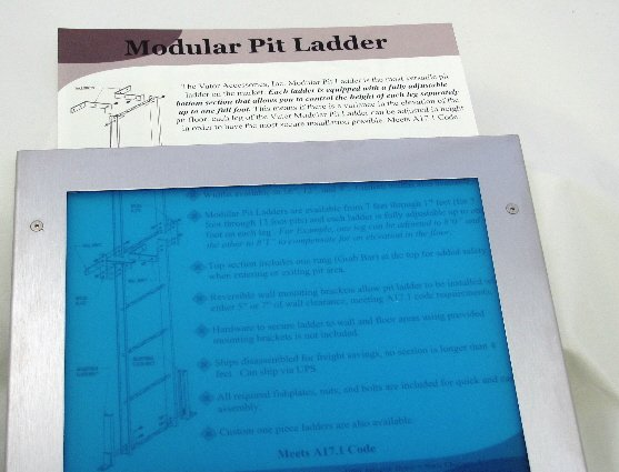 Image 2 of CF9X11 Document Frame with Slot for Easy Removal and Replacement of Contents