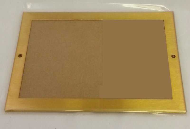 Image 0 of CF6X9B BRASS CERTIFICATE FRAME